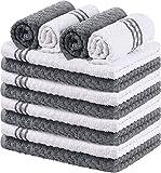 Utopia Towels Toallas de Cocina, 38 x 64 cm, 100% algodón Hilado en Anillo...