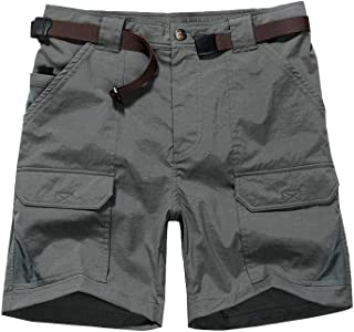 Jessie Kidden Women's Stretch Hiking Shorts, Outdoor Quick Dry Elastic Waist Casual Above Knee Cargo Pants (2105 Grey, 26...