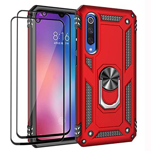 XIFAN Funda + [2 Pack] Cristal Vidrio Templado Xiaomi