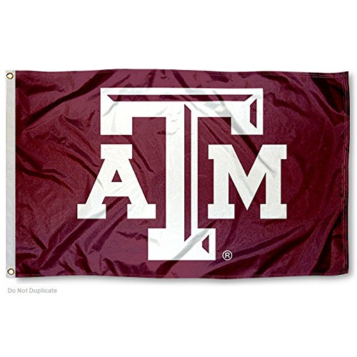 College Flags & Banners Co. Texas A&M Aggies Beveled Logo Flag
