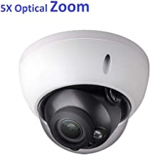 4MP Outdoor POE IP Camera IPC-HDBW4433R-ZS, 2.7-13.5mm Motorized Varifocal Lens, 5X Optical Zoom Dome Security Camera with IR 164ft Night Vision, Smart H.265+ WDR, SD Card Slot, IVS, ONVIF, IP67 IK10