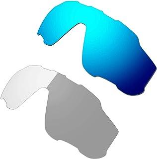 Hkuco Blue/Transition/Photochromic Polarized Replacement Lenses For Oakley Jawbreaker Sunglasses