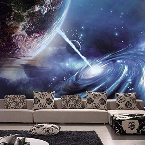 Wallpaper Photo Poster Giant Wallpaper Murales para paredes Techo 3D Blue Wallpaper Mural para 3D Stars Of A Blue Sky Para murales para Papel tapiz no tejido Papel tapiz 3D Decoración-200cm×140cm