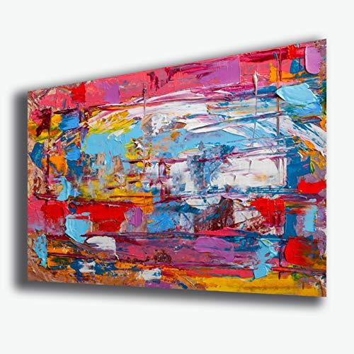 Quadro moderno Arte Astratta moderna POLLOCK Style STAMPA SU TELA canvas Quadri Moderni Cucina Salotto Soggiorno Camera da letto printerland.it (50x70 cm)