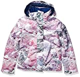 Roxy Big Jetty Girl Snow Jacket, Bright White Mysterious View, 12/L