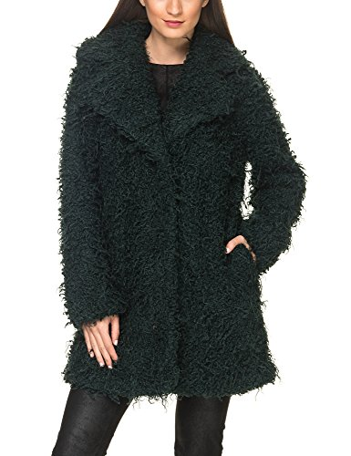 Minimum Women's Gyrit Women's Green Faux Fur Coat In Size 36-S Green