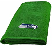 This NFL Seattle Seahawks Towel makes a solid addition to the bathroom of any fan. This fun bathroom accessory will showcase your team pride and remind everyone of who you're rooting for. Ideal for college dorms or for larger households, this towel i...