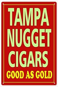 Garage Art Tampa Nugget Cigars Sign Natsalgic Cigar Reproduction Signs