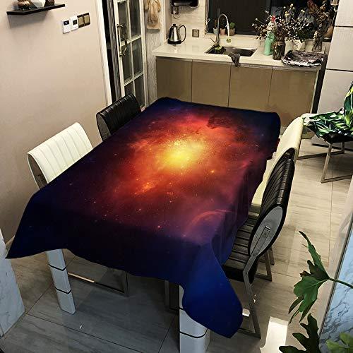El Mantel De Poliéster Impermeable De La Serie Starry Sky, Moderno Y Simple, Se Puede Utilizar para Manteles De Varias Mesas
