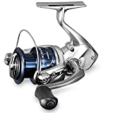 SHIMANO Nexave 2500 FE, Spinning Angelrolle mit Frontbremse, NEX2500FE