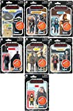Star Wars Retro Collection Toy 3.75-Inch-Scale The Mandalorian Action Figure Set of 7 Ages 4 and Up
