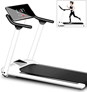 Folding Motorised Treadmill Ultra Thin and Silent, Intended for Home/Office Portable Gym Equipment Small Multifunctional W...