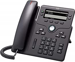 $69 » Cisco IP Phone 6851 with Multiplatform Firmware Supporting 4 SIP registrations CP-6851-3PCC-K9, Basic Cards (CP-6851-3PCC-...