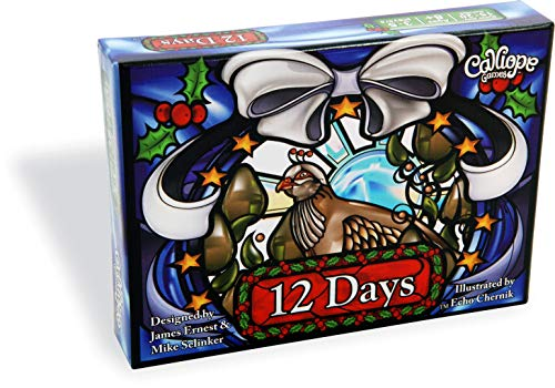 Calliope Games 12 Days - Holiday Themed Card Game - Celebrate Year Round