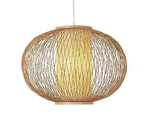 Fine Asianliving Deckenleuchte Pendelleuchte Beleuchtung Bambus Lampenschirm Handgefertigt - Sophia Pendelleuchte Beleuchtung Bambus Lampenschirm Geflochten Lampe Belechtung Rotan