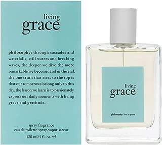 Philosophy Living Grace for Women Eau de Toilette Spray, 4.0 Ounce