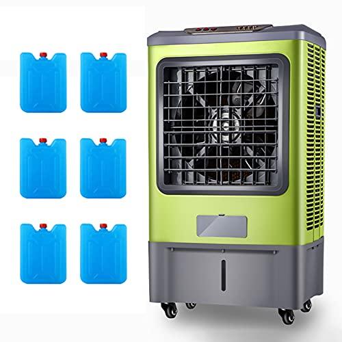 SXFuture 3 en 1 Aires Acondicionados Móviles 45L, Climatizadores Evaporativos Enfriador Purificador Humidificador, Caudal Aire 6000m³/h, Enfriadores de Pantano para Oficina en Casa