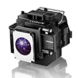 YOSUN V13H010L54 V13H010L58 Projector Lamp for Epson ELPLP54 ELPLP58 PowerLite Home Cinema 705HD EX31 EX51 EX71 EB-S7 EB-X7 EB-S8 ex5200 ex7200 ex3200 s10+ Replacement Projector Lamp bulb with Housing
