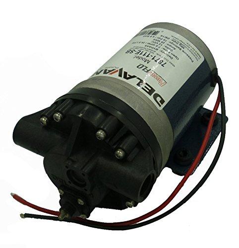 Delavan 7871-111E-SB FB3 Series Advanced Diaphragm Pump 12V, 60 PSI, 7.0 GPM, Bypass Pump