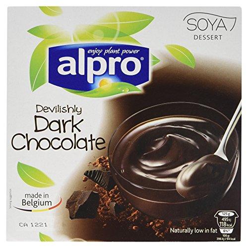 Alpro Soya Dessert Dunkle Schokolade 4x125g, 46157