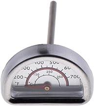 perfk Termómetro Analógico Semicírculo para Horno, Termómetro para Parrilla de Barbacoa, 0 ℃ -350 ℃