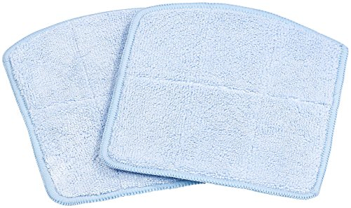 Sichler Haushaltsgeräte Akku Staubsauger: 2er-Set Wischtücher für Reinigungs- und Staubsauger-Roboter PCR-2300 (Saugroboter-Akkustaubsauger)