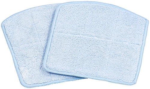 Sichler Haushaltsgeräte Beutelfreier Saugroboter: 2er-Set Wischtücher für Reinigungs- und Staubsauger-Roboter PCR-2300 (Saugroboter mit Hepafilter)
