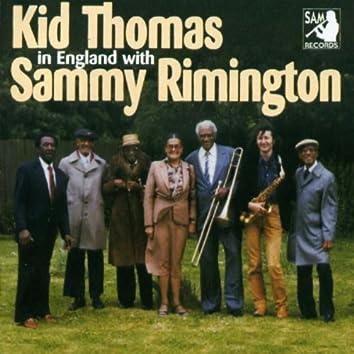 Kid Thomas In England with Sammy Rimington