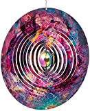 ISEO Galaxy Design Wind Spinner – Outdoor All Year Decorative Item –...
