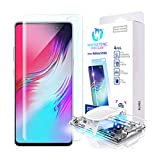 Galaxy S10 5G Screen Protector, [Dome Glass] Full 3D Curved Edge...