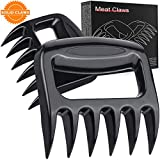 Bear Meat Pulled Shredder Claws - SURDOCA Solid Strongest BBQ Meat Forks Shredding Handling Carving Food Claw Handler Set for Pulling Brisket from Grill Smoker or Slow Cooker - BPA Free Barbecue Paws