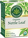 Traditional Medicinals Organic Nettle Herbal Leaf Tea, 16 Tea Bags...