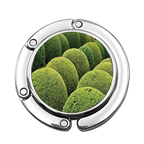 Bolas de jardín Verdes en Francia Arte botánico Bonito jardín de Ocio Foto Plegable Bolso
