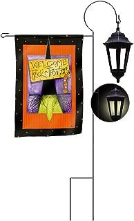Evergreen Enterprises Solar Garden Flag Lantern Stand