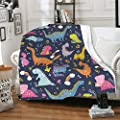 Jumsky Throw Blankets for Boys Girls Kids Warm Flannel Couch Sofa Bed Blanket