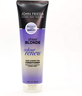 John Frieda Sheer Blonde Colour Renew Purple Conditioner, 8.45 Ounces