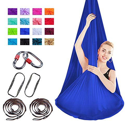 Buy Bargain WOGQX Aerial Yoga Swing Set, Aerial Yoga Hammock, Strong Anti-Gravity, Trapeze Equipment...