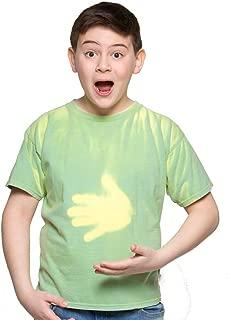 Kids Heat Reactive Color Changing T-Shirt SMARTWEAR Color Shifting