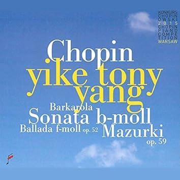 Sonata B-Moll, Ballada F-Moll, Mazurki