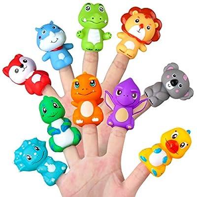 best dinosaur finger puppets
