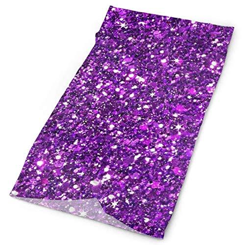 Quintion Robeson Toalla de pasamontañas Gracioso Espeluznante Negro púrpura gótico, Sombreros multifuncionales para Hombres, toallita 3D a Prueba de Viento UV