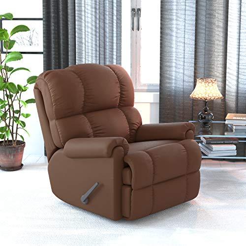 Flash Furniture Rocker Recliner - Sierra Chocolate Microfiber Upholstery - Standard Size Recliner