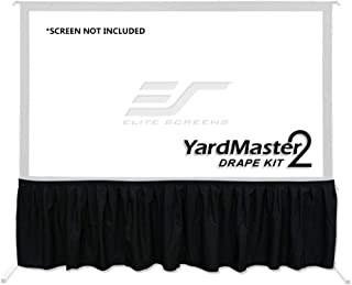 Elite Screens Projector Projection Screen Drape Kit Accessory Uniquely Designed for Yard Master 2 and Yard Master Plus Ser...