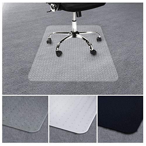 Tapis protège-sol transparent casa pura® | vinyle sol 100% recyclé | protection moquette tapis - chaise bureau | 2 tailles | 90x120cm
