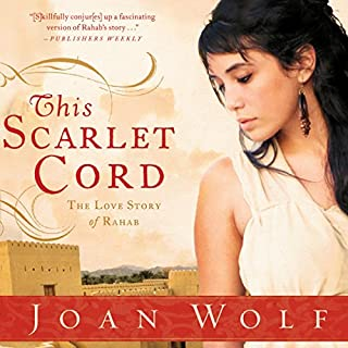 This Scarlet Cord audiobook cover art