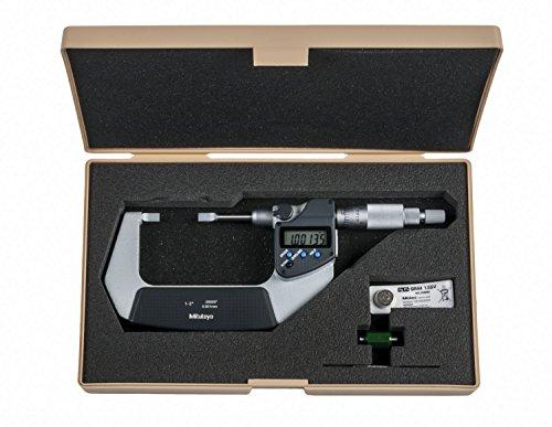 Mitutoyo 422-331-30 Serie 422 - Micrometro de cuchilla (tipo A, 25,4 mm a 50,8 mm)