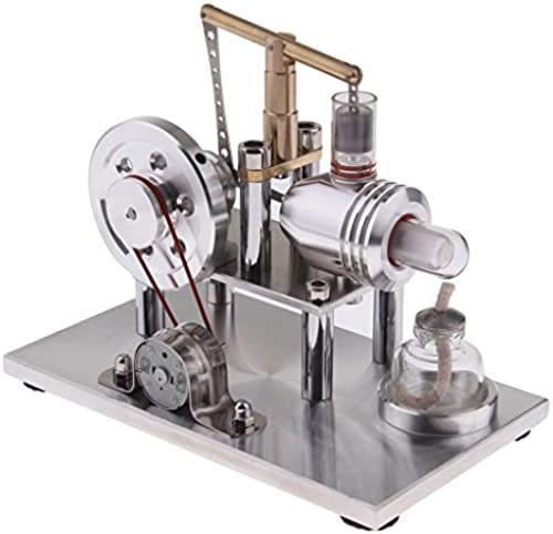 F Fityle Gleichgewicht Stirling Motor Modell - Generator Generator Bildung Modellbausatz Kit - Kinder Physik Lernspielzeug