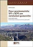 Prove penetrometriche SPT e SCPT con correlazioni geotecniche