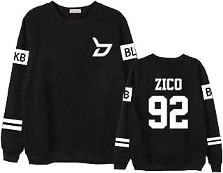 Block B New Album Sweater Sweatshirt Zico Taeil B-Bomb Pullover Jacket