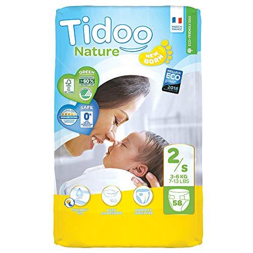 Tidoo Couches bébé écologiques Taille 2